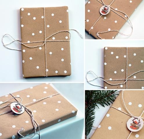 polka dot gift